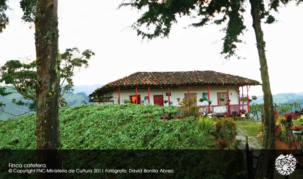 世界遺産地域の伝統的な家