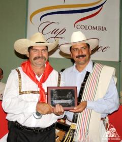 カップ・オブ・エクセレンスを受賞したコーヒー生産者