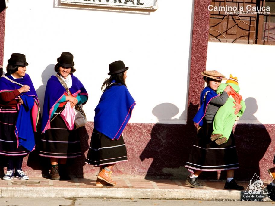 コロンビア カウカ県の街、シルビア