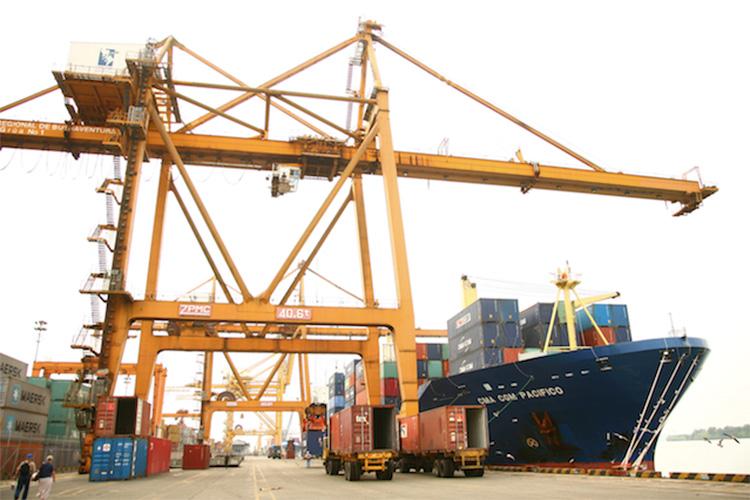 バジェ・デル・カウカ県のブエナベントゥラ港