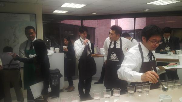 FNCマイルドコーヒースペシャリスト養成講座2015のレポート
